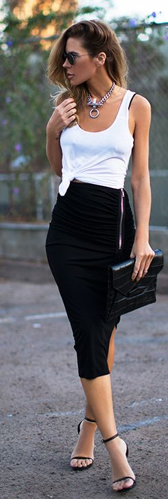 Pencil Skirt, fashion, glam, style